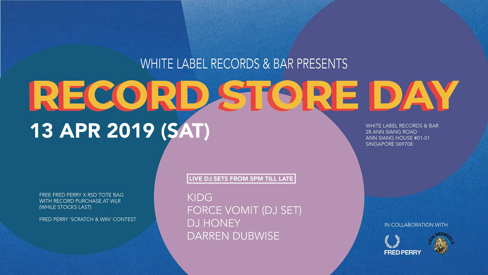 Fred Perry Record Store Day @ While Label