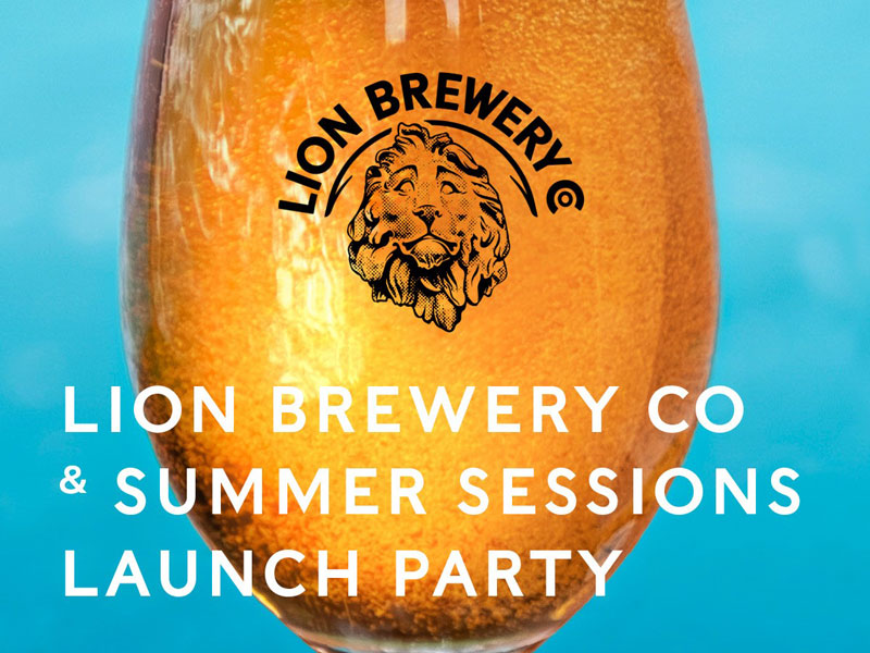 Lion Brewery Co Launch Party