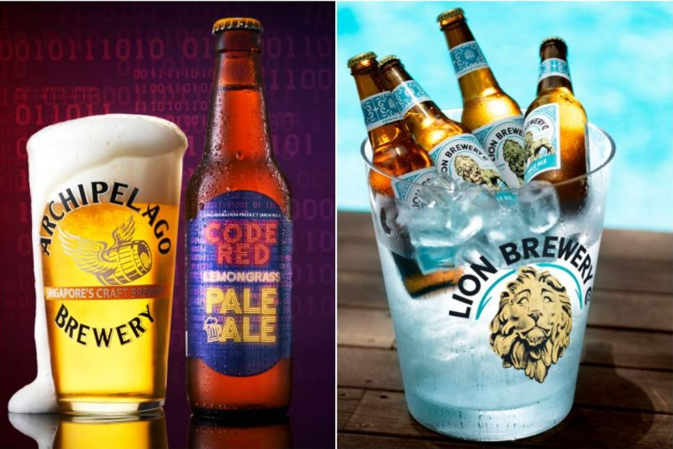 Beat the heat with these Singapore beers
