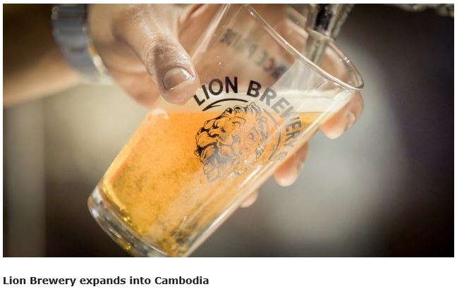 Lion Brewery craft beers can now be enjoyed in Cambodia; plans for experimental beers