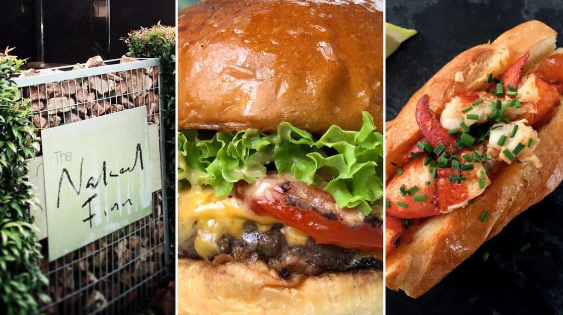 $12 Burger By 2-Michelin Star Chef & Discounted Lobster Roll At Naked Finn's Anniversary Party
