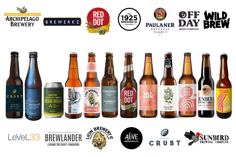 Singapore's local beer companies#SGCraftTogether
