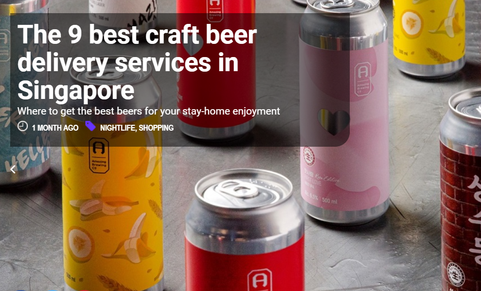 The 9 best craft beer delivery services in Singapore