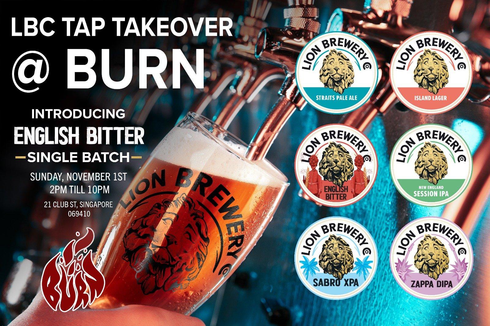 LBC Tap Takeover @ Burn