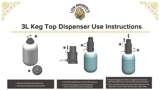 3L Keg Top Dispenser